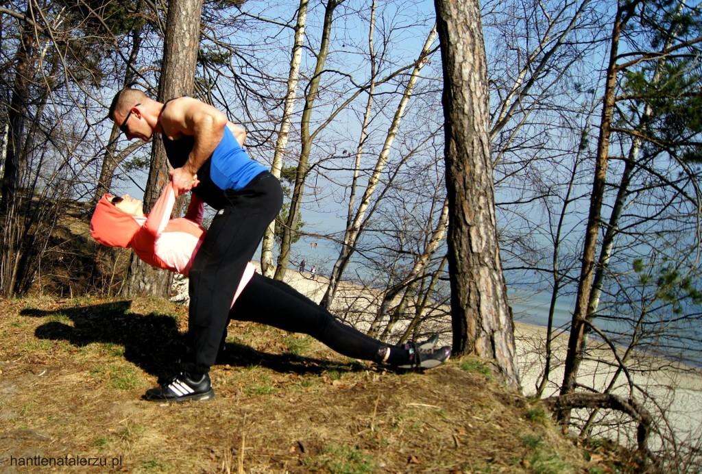 Ćwiczenie na plecy w parze